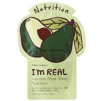 Тканевая маска с экстрактом авокадо Tony Moly I'm Real Avocado Mask Sheet
