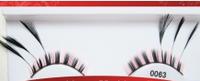 Фантазийные перьевые накладные ресницы 0063 + клей