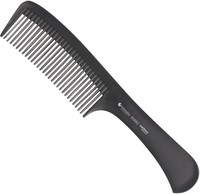 Hairway Comb+CARBON Расческа для стрижки (227мм.)