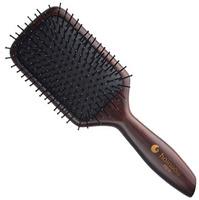 Hairway Venge Щетка массажная на деревянной основе прямоугольная (11 рядов)