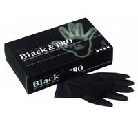Sibel Перчатки латексные черные (20шт.)