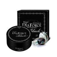 Rearar DiaForce Hydro-Gel Eye patch L Black Большие гидрогелевые патчи с золотом и черным жемчугом