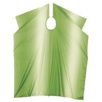 Comair Накидка для стрижки Stonewash на крючках (зеленая)