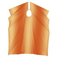 Comair Накидка для стрижки Stonewash на крючках (оранжевая)