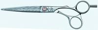 Ножницы из Дамасской стали Kasho Damascus KAD-65os