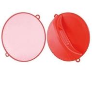 Comair Зеркало ручное D=28см, (красное)