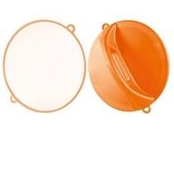 Comair Зеркало ручное D=28см. (оранжевое)