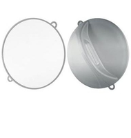 Comair Зеркало ручное D=28см, (серебристое)