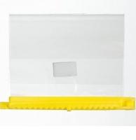 Comair Пакеты для мелирования желтые 13см.