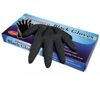 Comair Перчатки Professional Black латекс Маленькие