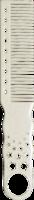 Расческа для тушевки - 280 /Clipper Combs/ 195 мм