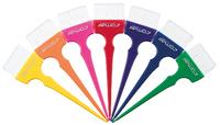 Кисть для окрашивания волос Rainbow широкая