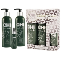 Chi Tea Tree Oil Calming Cleanse Trio Успокаивающий набор на основе масла чайного дерева