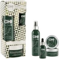 Chi Tea Tree Oil Tranquil Treat Набор для лечения волос на основе масла чайного дерева