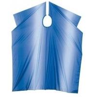 Comair Накидка для стрижки Stonewash на крючках (синяя)