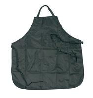 Comair Фартук для окраски волос, регулируемый черный с карманами