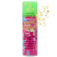 Цветной спрей для волос Hair Colour Glitter Зеленый