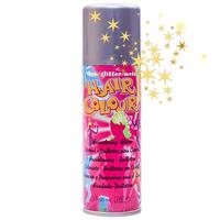 Цветной спрей для волос Hair Colour Glitter Серебристый