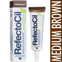 RefectoCil Sensitive Medium Brown Краска коричневая для бровей и ресниц