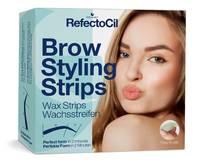 RefectoCil Brow Styling Strips Восковые полоски для коррекции бровей