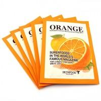 Тканевая маска для лица с Апельсином SkinFood Everyday Facial Mask Sheet