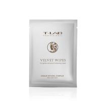T-lab Professional Velvet Wipes Салфетки для очистки кожи после окрашивания