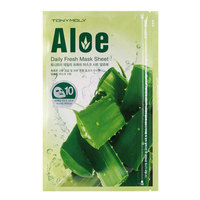 Тканевая маска с экстрактом алоэ вера Tony Moly Daily Fresh Mask Sheet Aloe