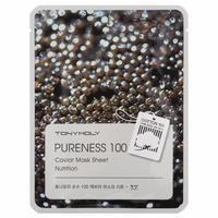 Tony Moly Pureness 100 Caviar Mask Sheet Nutrition Маска с экстрактом черной икры