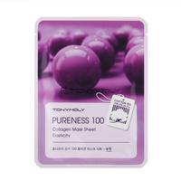 Tony Moly Pureness 100 Collagen Mask Sheet Elasticity Маска с экстрактом коллагена
