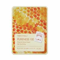 Tony Moly Pureness 100 Propolis Mask Sheet Skin Soothing Маска с экстрактом прополиса