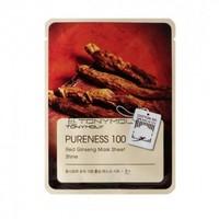 Маска с красным женьшенем Tony Moly Pureness 100 Red Ginseng Mask Sheet