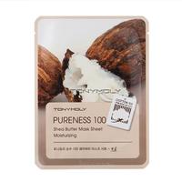 Tony Moly Pureness 100 Shea Butter Mask Sheet Тканевая маска с маслом ши
