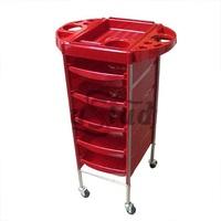 Opus Тележка парикмахерская T-0Q6 (red)