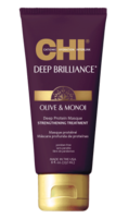 CHI Deep Brilliance Olive Monoi Optimum Protein Протеиновая маска для волосMasque