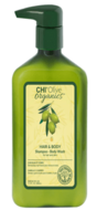 CHI Olive Organics Hair and Body Shampoo Шампунь для волос и тела с оливой