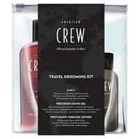 American Crew Дорожный набор для бритья Travel Grooming Kit