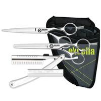 Набор парикмахерских ножниц Kasho EO-55 os набор/кобура-держатель
