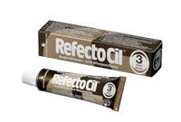 """RefectoCil Краска для бровей и ресниц """"3"""" (натуральный коричневый)"""