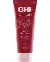CHI Rose Hip Oil Color Nurture Recovery Treatment Восстанавливающая маска для окрашенных волос с маслом розы и кератином